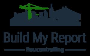 Die Skyline mit zwei Baukranen symbolisert das Software-Tool zum Baucontolling - Build My Report.